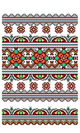 """Свадебный рушник для каравая """"Орнамент"""" 102"""