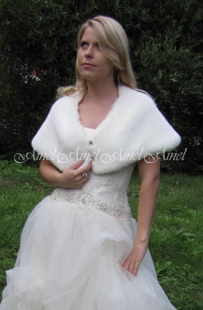 Свадебная накидка №47 для невесты прокат