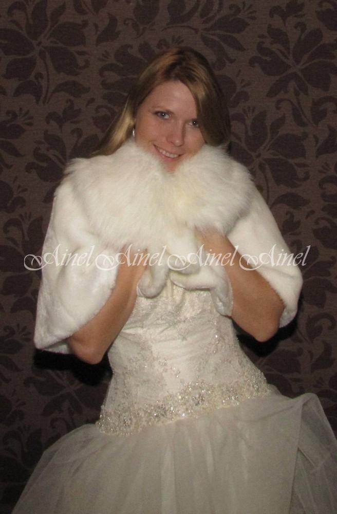 Свадебная накидка №58 для невесты в прокат
