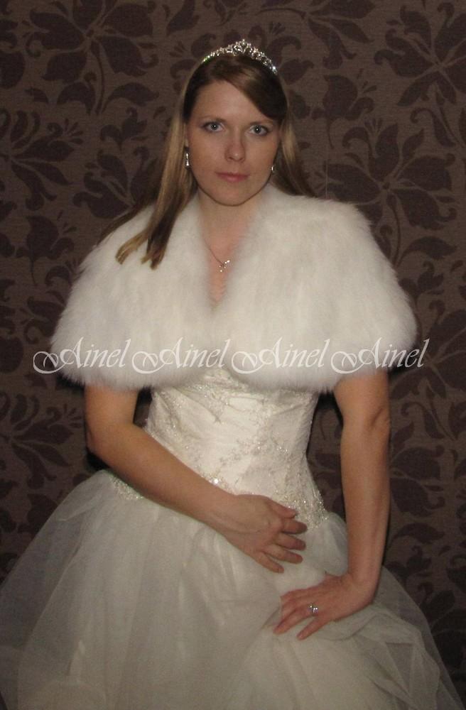 Свадебная накидка №64 для невесты напрокат