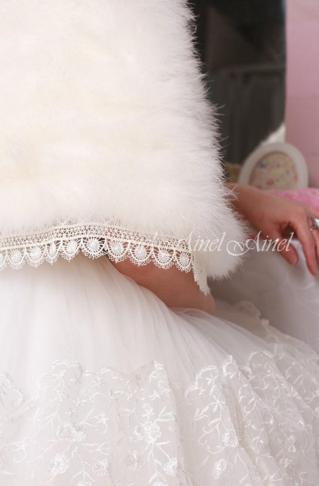 Свадебная накидка №107 для невесты прокат