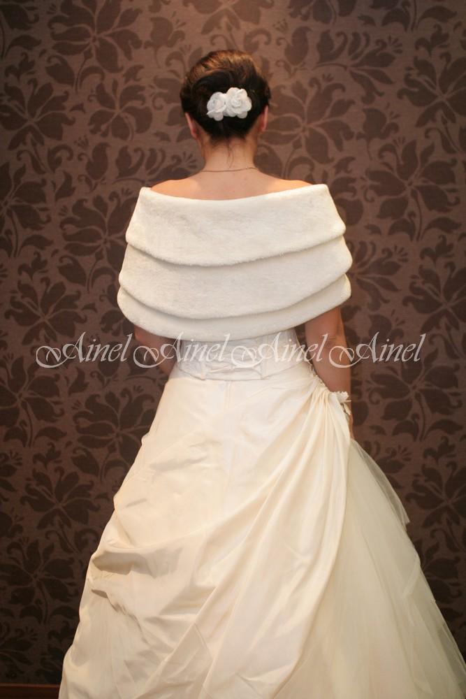 Свадебная горжетка №25 для невесты напрокат
