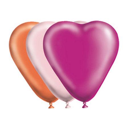Воздушный шарик для свадьбы Сердце однотонный