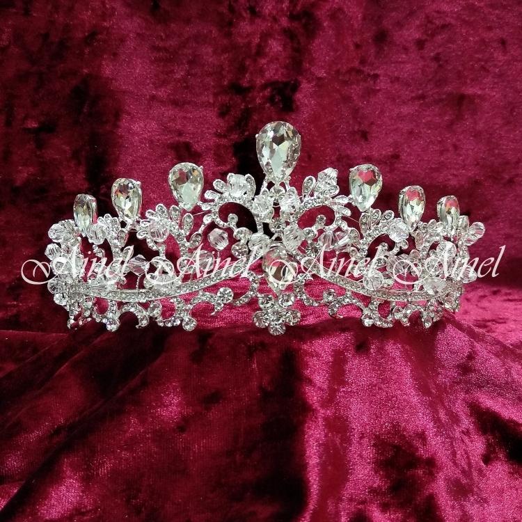 Диадема для невесты №4376 стразы