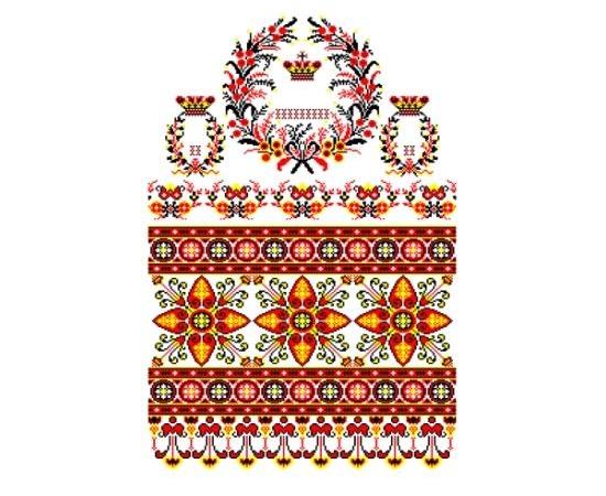 """Свадебный рушник для каравая """"Орнамент"""" 108"""