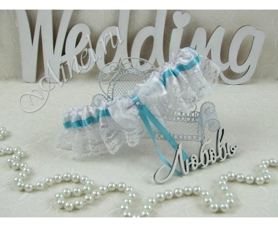 """Подвязка невесты свадебная """"Тиффани"""""""