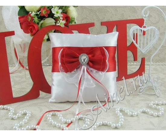 Свадебная подушечка для обручальных колец «Женева»