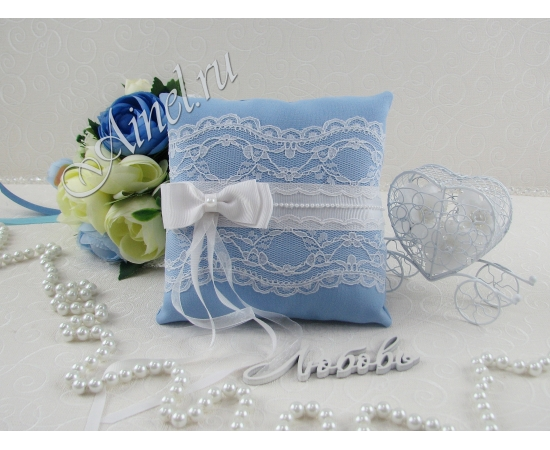 Свадебная подушечка для обручальных колец «Орлеан»