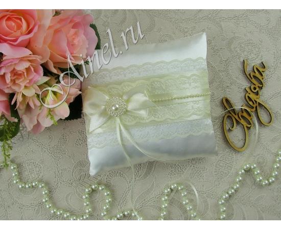 Свадебная подушечка для обручальных колец «Маркиза»