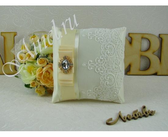 Свадебная подушечка для обручальных колец «Венеция»