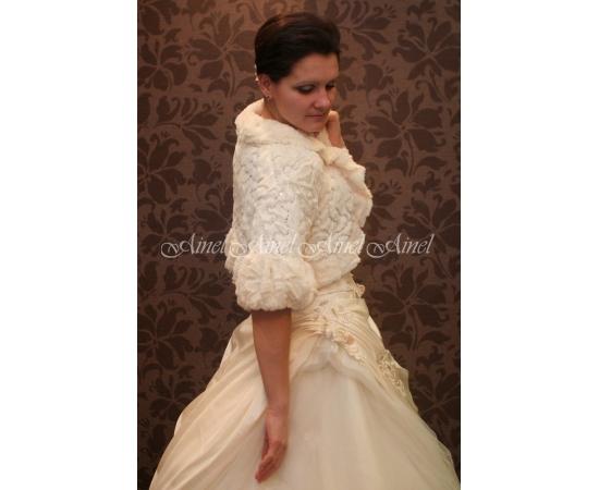 Свадебная шубка №3 для невесты напрокат
