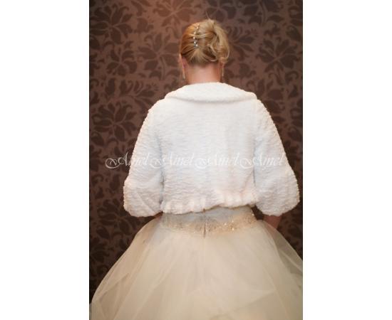 Шубка на свадьбу №14 для невесты напрокат