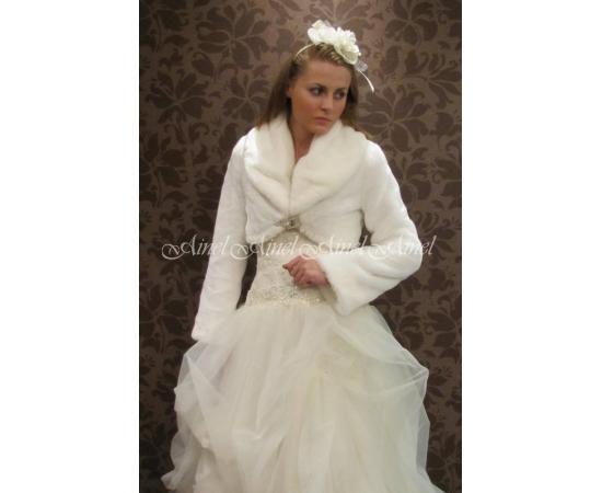 Свадебная шубка №39 для невесты напрокат