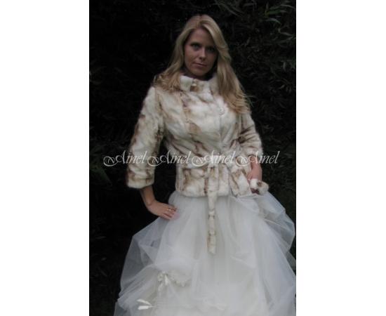 Свадебная шубка №54 для невесты прокат