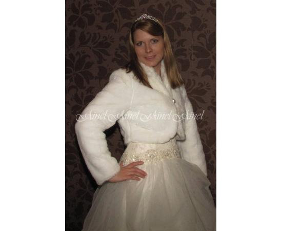 Свадебная шубка №63 для невесты в прокат