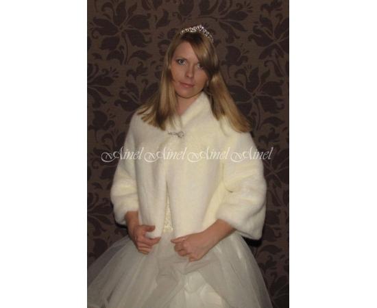 Свадебная шубка №55 для невесты напрокат