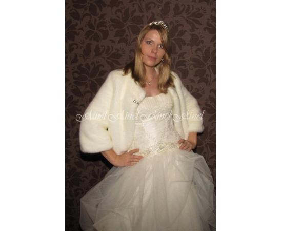 Свадебная шубка №55 для невесты в прокат