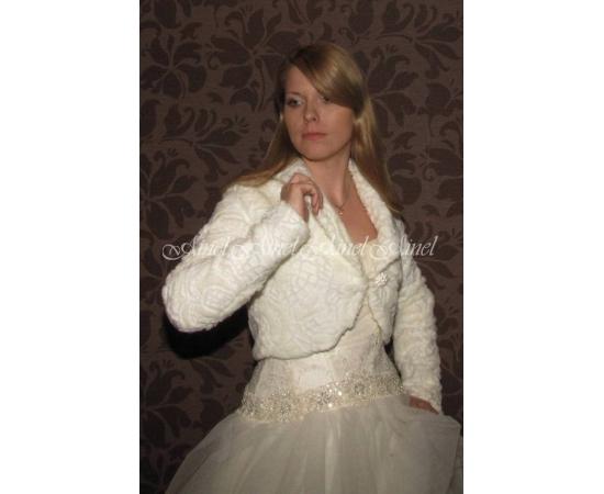 Шубка на свадьбу №57 для невесты в прокат