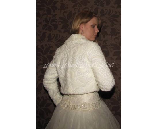 Свадебная шубка №57 для невесты напрокат