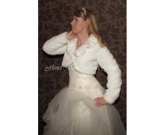 Шубка на свадьбу №61 для невесты в прокат