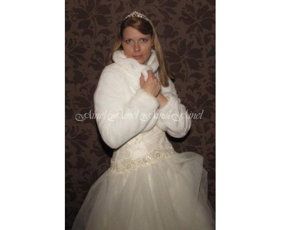 Свадебная шубка №61 для невесты напрокат