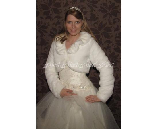 Свадебная шубка №61 для невесты прокат