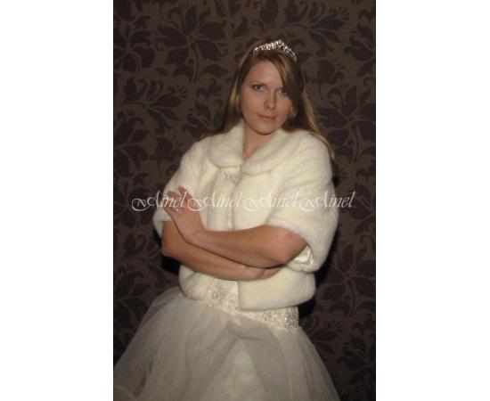 Свадебная шубка №59 для невесты в прокат