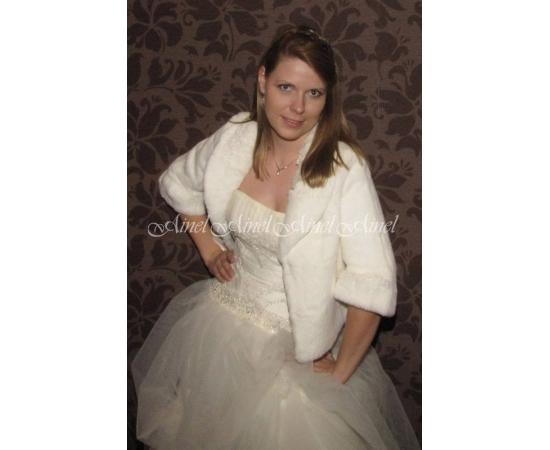 Шубка на свадьбу №67 для невесты в прокат