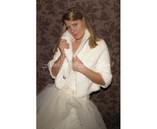 Свадебная шубка №67 для невесты напрокат
