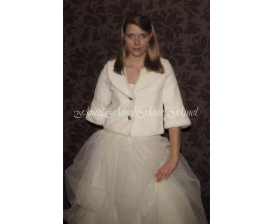 Свадебная шубка №67 для невесты прокат