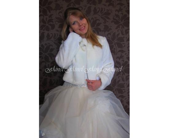 Шубка на свадьбу №69 для невесты напрокат