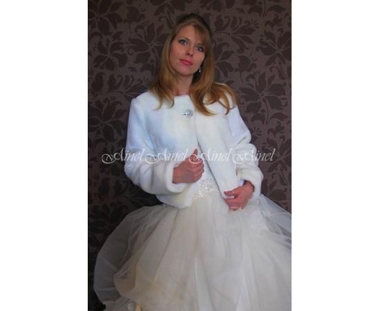Шубка на свадьбу №69 для невесты прокат