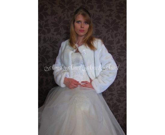 Свадебная шубка №69 для невесты в прокат