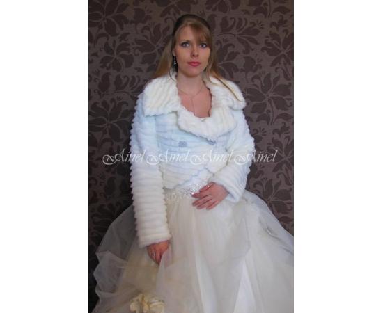 Свадебная шубка №75 для невесты в прокат