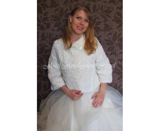 Шубка на свадьбу №74 для невесты напрокат