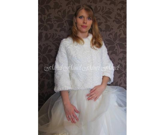 Свадебная шубка №74 для невесты напрокат
