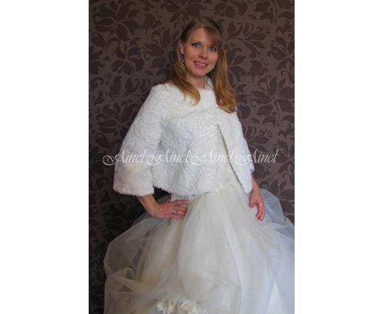 Свадебная шубка №74 для невесты прокат