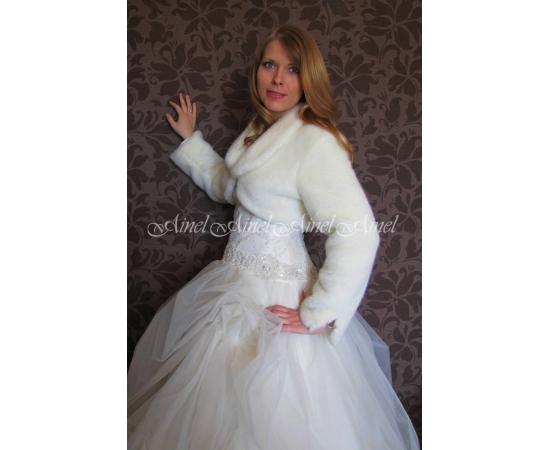 Шубка на свадьбу №71 для невесты в прокат