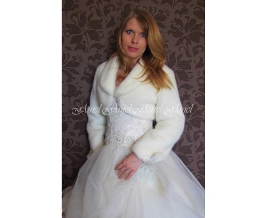 Свадебная шубка №71 для невесты в прокат