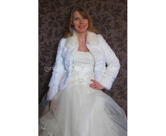 Свадебная шубка №78 для невесты напрокат