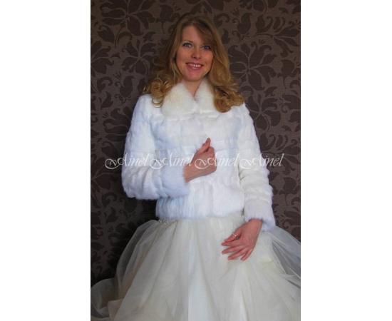 Свадебная шубка №78 для невесты в прокат