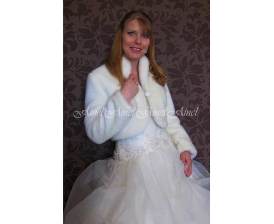 Свадебная шубка №85 для невесты прокат