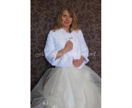 Шубка на свадьбу №72 для невесты напрокат