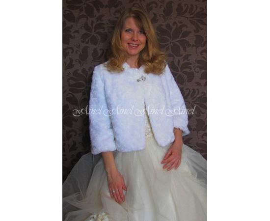 Свадебная шубка №72 для невесты напрокат