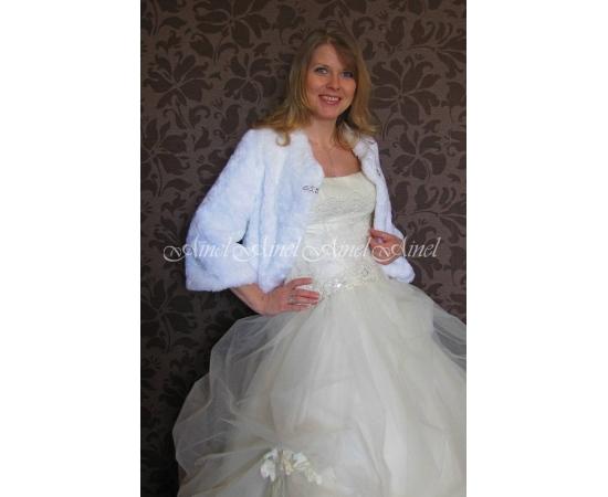 Свадебная шубка №72 для невесты в прокат