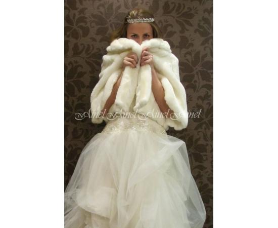 Накидка на свадьбу №41 для невесты прокат