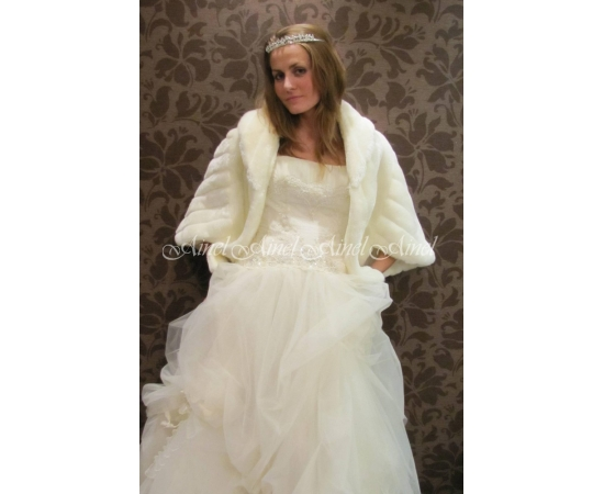 Свадебная накидка №41 для невесты напрокат