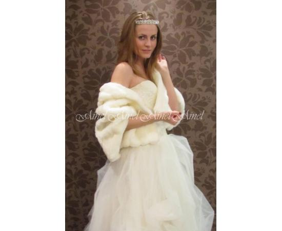 Свадебная накидка №41 для невесты в прокат