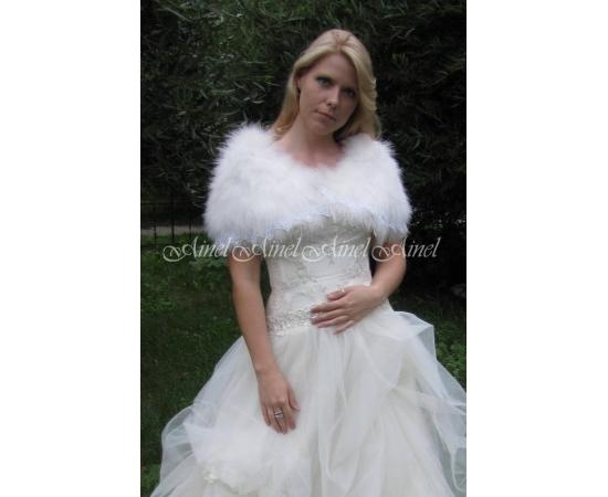 Накидка на свадьбу №51 для невесты напрокат