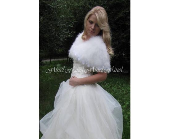 Накидка на свадьбу №51 для невесты в прокат